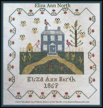 Eliza Ann North - Dames of the Needle
