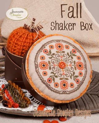 Fall Shaker Box - Jeanette Douglas Designs