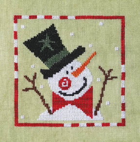 Sprightly Snowman - Artful Offerings