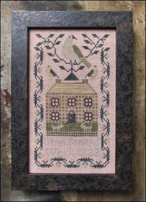 Miniature Quaker Sampler - Kathy Barrick