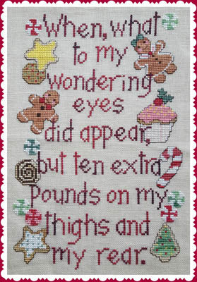 Christmas Pounds - Waxing Moon Designs