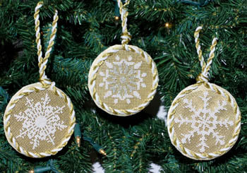 Snowflake Ornaments - Deb Bee's Designs