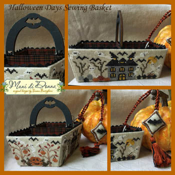 Halloween Days Sewing Basket - Mani Di Donna