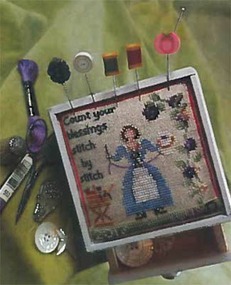 Count Your Blessings Stitch by Stitch - Blackberry Lane Designs