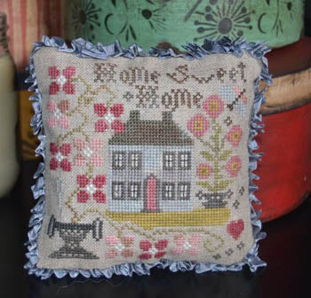 Home Sweet Home Pin Pillow - Abby Rose Designs