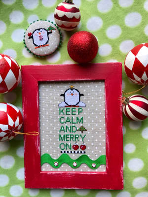 Keep Calm and Merry On - Amy Bruecken Designs