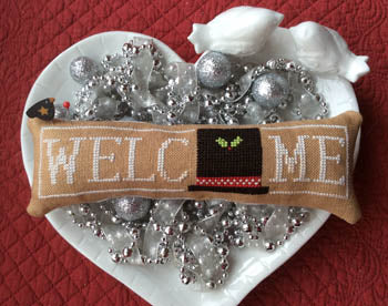 Wee Welcome, January Snowman Hat - Needle Bling Designs
