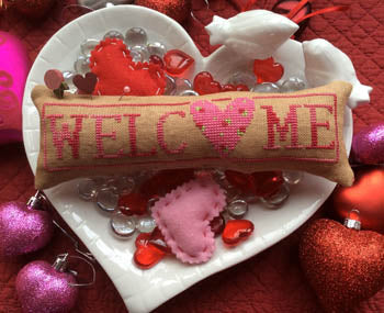 Wee Welcome, February Hearts - Needle Bling Designs