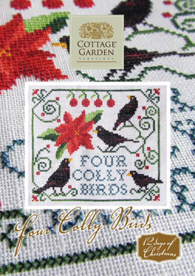 Four Colly Birds - Cottage Garden Samplings