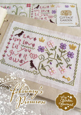 February's Primrose - Cottage Garden Samplings