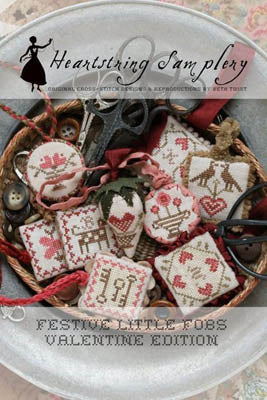 Festive Little Fobs 1 - Heartstring Samplery