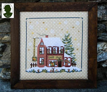 Christmas Avenue, Quilt Shop - Sara Guermani