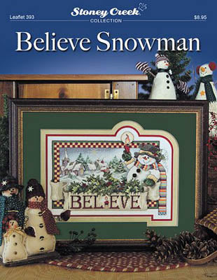 Believe Snowman - Stoney Creek