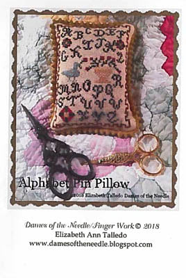 Alphabet Pin Pillow - Dames of the Needle