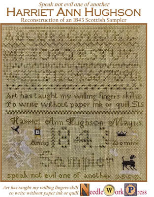 Harriet Anne Hughson - Needle WorkPress