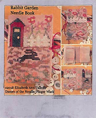 Rabbit Garden Needle Book - Dames of the Needle
