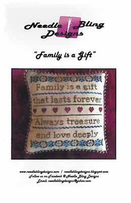 Family Is a Gift - Needle Bling Designs