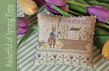 Basketful of Spring Time - With Thy Needle & Thread