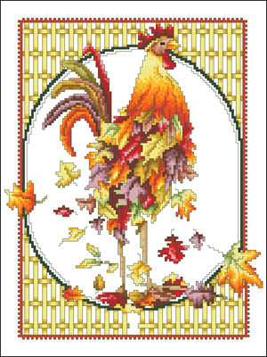October Rooster - Vickery Collection