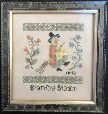 Witch of Bramford Station - Queenstown Sampler Designs