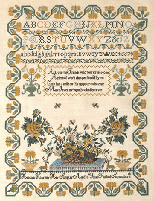 Hestera Harmer 1843 - Queenstown Sampler Designs