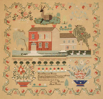 Sarah Haines Sampler - Queenstown Sampler Designs