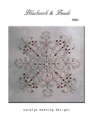 Blackwork & Beads 001 - CM Designs