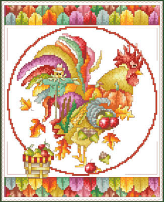 November Rooster - Vickery Collection