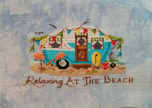 Relaxing at the Beach - Blackberry Lane Designs