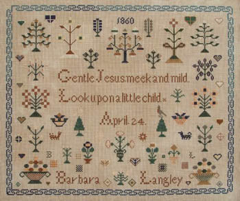 Barbara Langley 1860 - Queenstown Sampler Designs