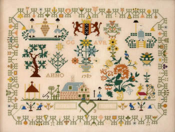Dutch Sampler 1787 - Queenstown Sampler Designs