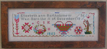 Elizabeth Ann Bartholomew - Queenstown Sampler Designs