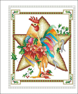 December Rooster - Vickery Collection