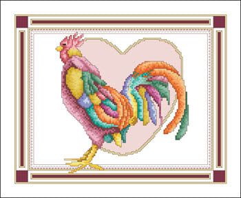 February Rooster - Vickery Collection