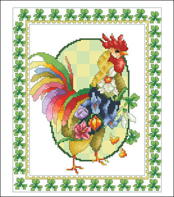 March Rooster - Vickery Collection
