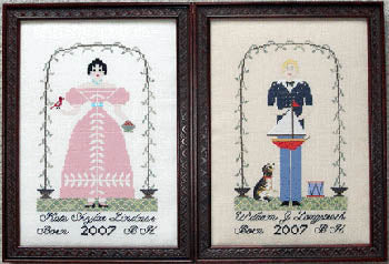 William & Kate - Queenstown Sampler Designs