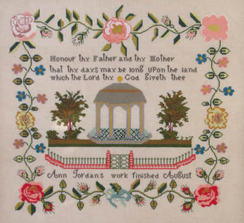Ann Jordan c.1841 - Queenstown Sampler Designs