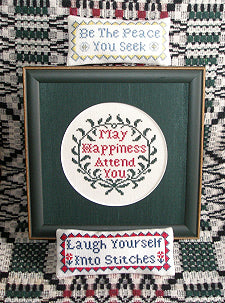 Blessings and a Quip - Queenstown Sampler Designs