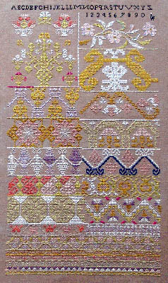 Aztec Gold Sampler - Queenstown Sampler Designs