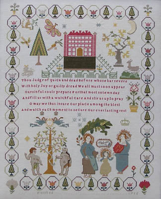 Ann Till Sampler 1795 - Queenstown Sampler Designs