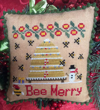 Bee Happy - Needle Bling Designs