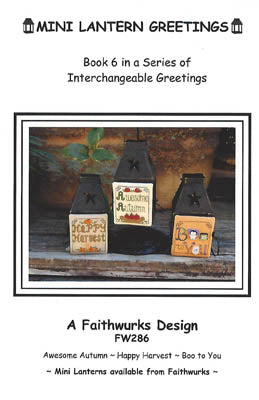 Mini Lantern Greetings, Book 6 - Faithwurks