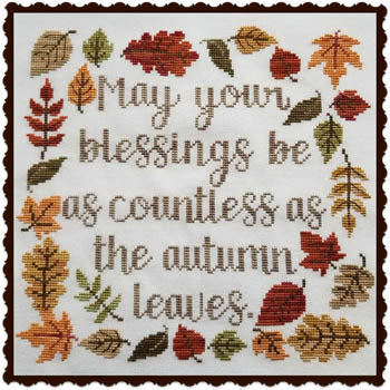 Autumn Blessings - Waxing Moon Designs