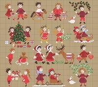 Happy Childhood Collection, Christmas - Perrette Samouiloff