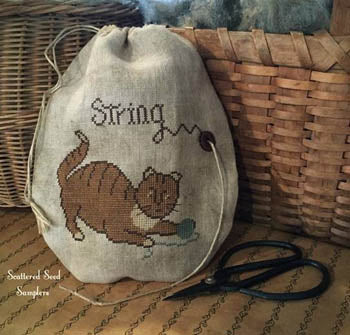 Miss Kitty's String Bag - Scattered Seed Samplers