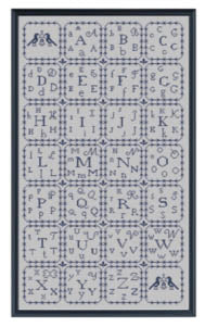 Alphabet Sampler - Works by ABC