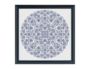 Gossamer Lace in Cross Stitch - Works by ABC