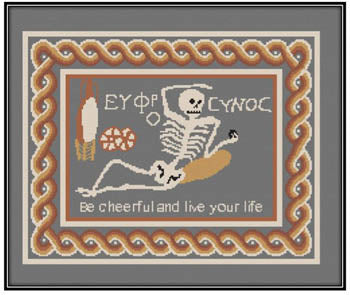 Skeleton Mosaic - Works by ABC