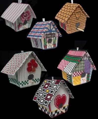 3D Birdhouses - Xs and Ohs