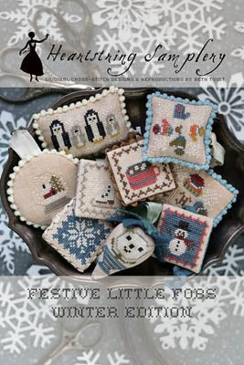 Festive Little Fobs 11, Winter Edition - Heartstring Samplery